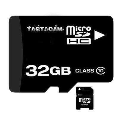 """Tactacam Memory Cards Class 10 32GB SD Card for 2.0 Black Model: 32GBSD"""