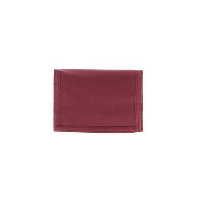 Wallet: Burgundy Solid Bags