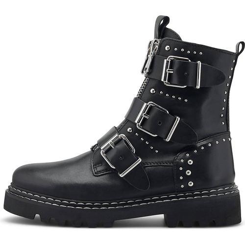 Another A, Nieten-Boots in schwarz, Boots für Damen Gr. 39