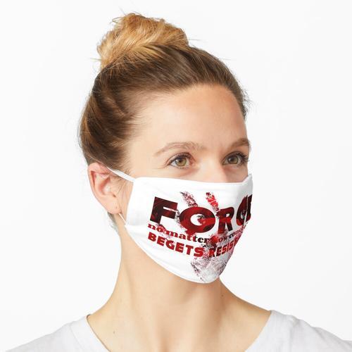 Wirkung und Gegenwirkung Maske