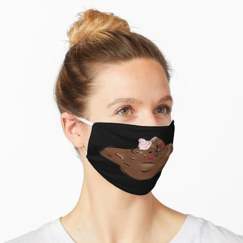 Schokoladeneisbär Maske