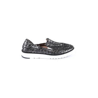 Johnston & Murphy Flats: Silver Shoes - Size 8 1/2