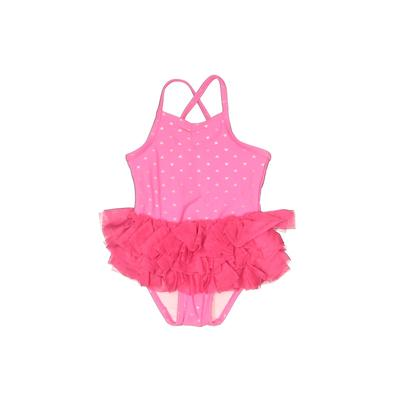 Circo One Piece Swimsuit: Pink P...