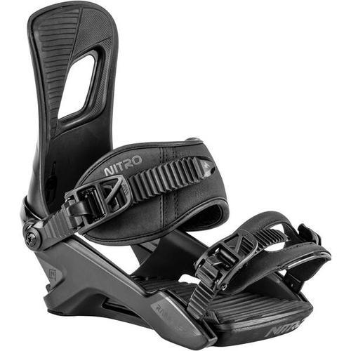 NITRO Snowboard-Softbindung Rambler, Größe L in ULTRA BLACK