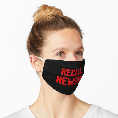 Rückruf Newsom Maske