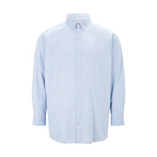TOM TAILOR Herren Basic Oxford Hemd, blau, Gr.5XL