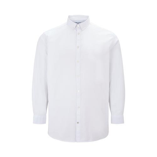 TOM TAILOR Herren Basic Oxford Hemd, weiß, Gr.5XL