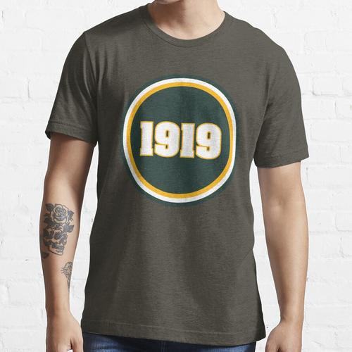 1919 Patch Aufkleber Essential T-Shirt