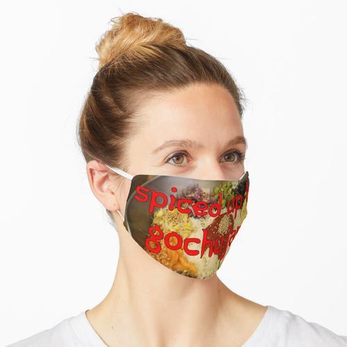 Von Gochujang aufgepeppt Maske