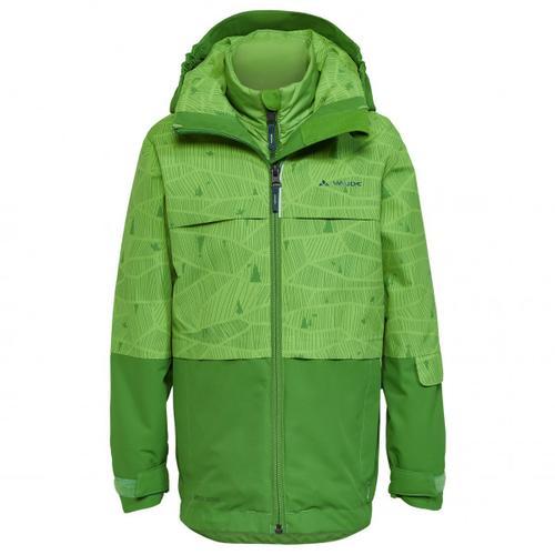 Vaude - Kid's Snow Cup 3in1 Jacket II - Doppeljacke Gr 122/128 grün/oliv