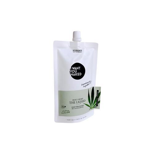 I Want You Naked Körperpflege Handseife Bio-Hanfsamenöl Holy Hemp The Holy Hemp Hand Wash Refill 250 ml