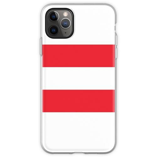 Oesterreichische Fahne - Österreichische Flagge - Österreich Flexible Hülle für iPhone 11 Pro Max