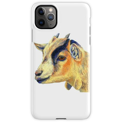 Zwergziege - Zwergziege Malerei - Ziege - Ziege Malerei - Zwergziege Sh iPhone 11 Pro Max Handyhülle