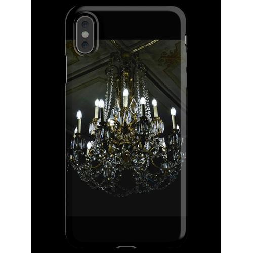 Französischer Noir Kronleuchter iPhone XS Max Handyhülle