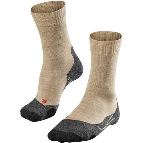 FALKE TK2 Damen Socken, Größe 35-36 in Nature Mel