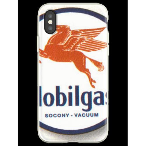 Mobilgas Mobilöl Pegasus Flexible Hülle für iPhone XS
