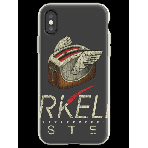 Berkeley Systems Flying Toaster Flexible Hülle für iPhone XS