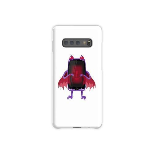 Niedrige Batterie Tablette. Samsung Galaxy S10 Plus Case