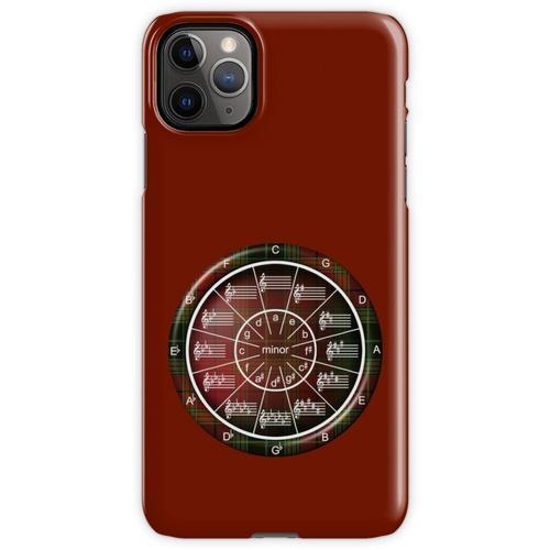 Musiker-Kreis der Fifths in Celtic Plaid iPhone 11 Pro Max Handyhülle