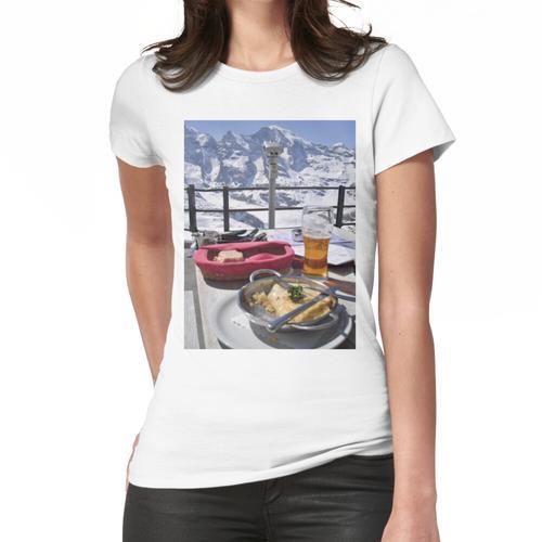 St. Moritz Diavolezza Mittagsszene Frauen T-Shirt
