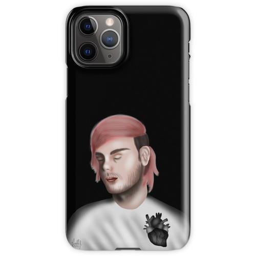 tiefschwarzes Herz iPhone 11 Pro Handyhülle