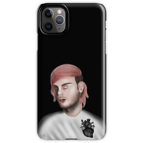 tiefschwarzes Herz iPhone 11 Pro Max Handyhülle