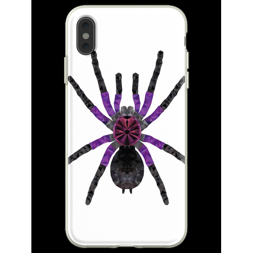 Vogelspinne Pamphobeteus machala Tarantel Geschenk Flexible Hülle für iPhone XS Max
