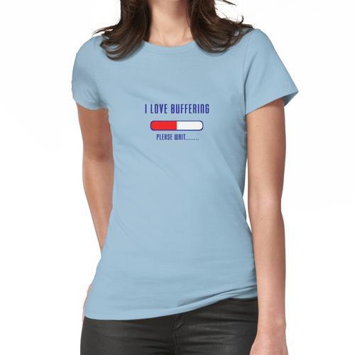 Pufferung Bitte warten T-Shirt - Laden der Anwendungsdatei Frauen T-Shirt