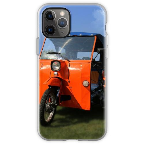 Simson Duo - DDR Classic Fahrrad Flexible Hülle für iPhone 11 Pro