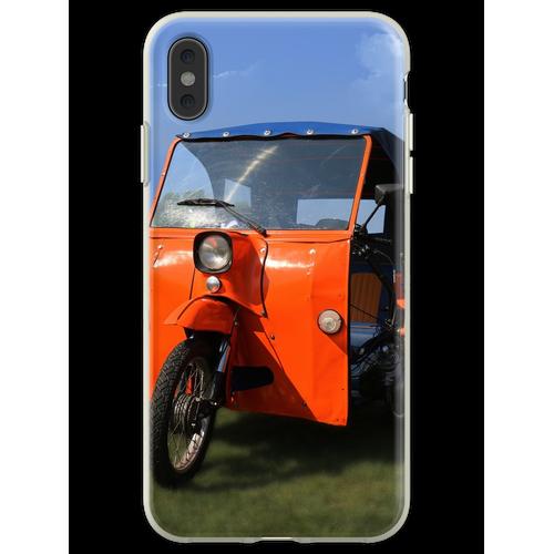 Simson Duo - DDR Classic Fahrrad Flexible Hülle für iPhone XS Max