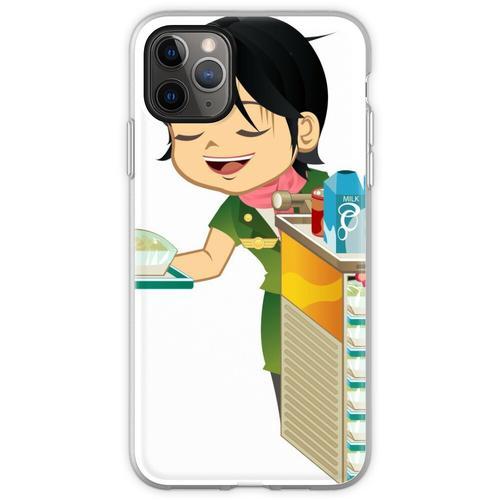 Asiatische Comic-Comic-Figuren Flexible Hülle für iPhone 11 Pro Max