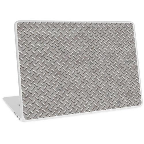 Diamond-Plate - Hart wie Stahl ... oh, es ist Stahl. Laptop Skin