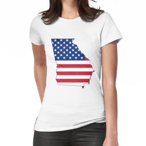 Georgien, USA Frauen T-Shirt