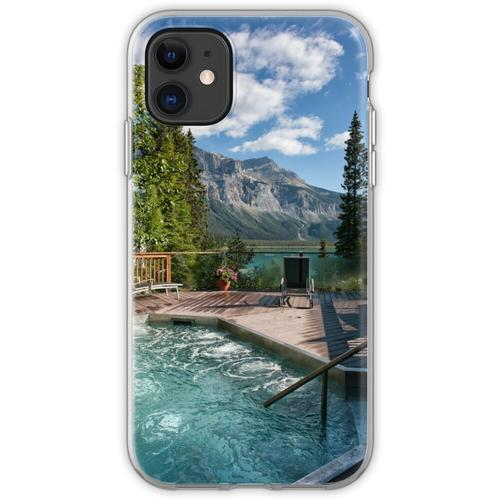 Emerald Lake, Emerald Whirlpool Flexible Hülle für iPhone 11