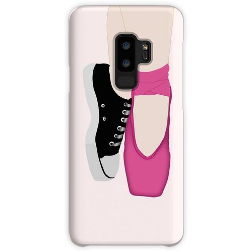 Ballerina Pointe Schuhe + Converse Samsung Galaxy S9 Plus Case