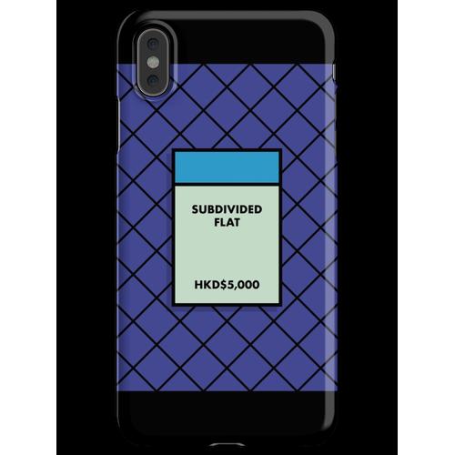 UNTERTEILTE WOHNUNG iPhone XS Max Handyhülle