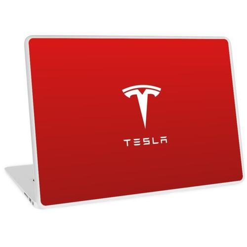 Tesla Motor Logo für Laptops und mobile Skins / Hüllen Laptop Skin