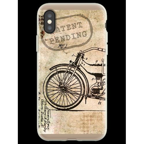 Motorrad Fahrrad Harley Flexible Hülle für iPhone XS
