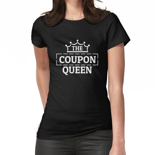 The Coupon Queen Schnäppchen Coupons Couponing Couponer Frauen T-Shirt