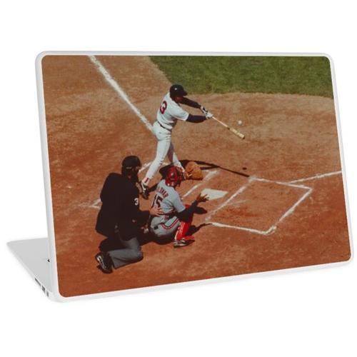 Hey Batter-batter, Swing Batter! Laptop Skin
