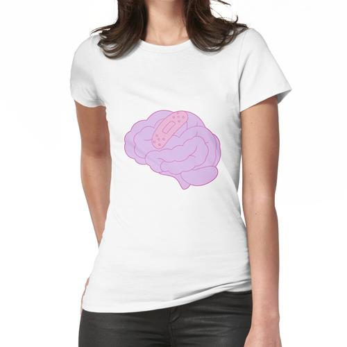 Gehirn geflickt Frauen T-Shirt
