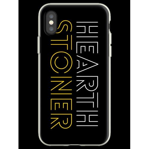 Hearthstone Player oder Hearthstoner Minimal Design Flexible Hülle für iPhone XS