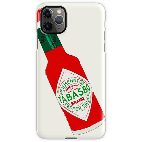Tabasco Hot Sauce Flasche (Tabasbo) iPhone 11 Pro Max Handyhülle