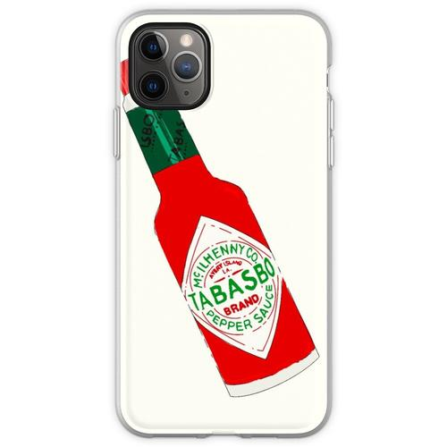 Tabasco Hot Sauce Flasche (Tabasbo) Flexible Hülle für iPhone 11 Pro Max