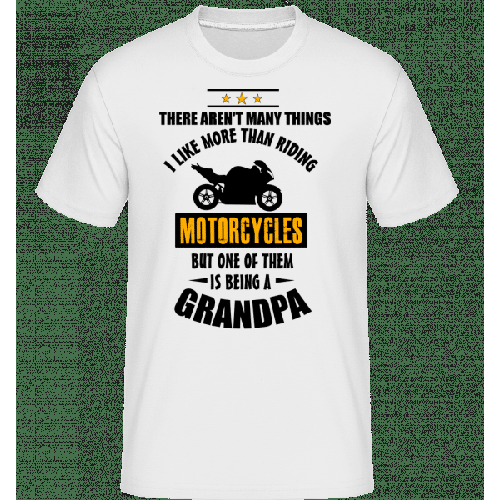 Biking Grandfather - Shirtinator Männer T-Shirt