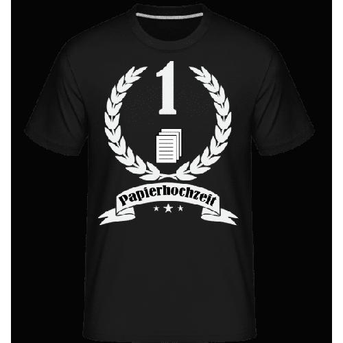 Papierhochzeit - Shirtinator Männer T-Shirt