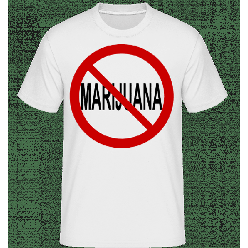 No Marijuana Sign - Shirtinator Männer T-Shirt
