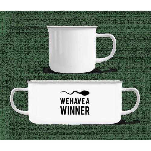 Sperm Winner - Emaille-Tasse
