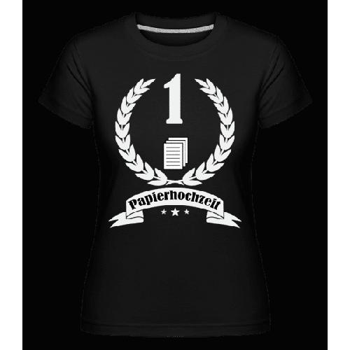 Papierhochzeit - Shirtinator Frauen T-Shirt