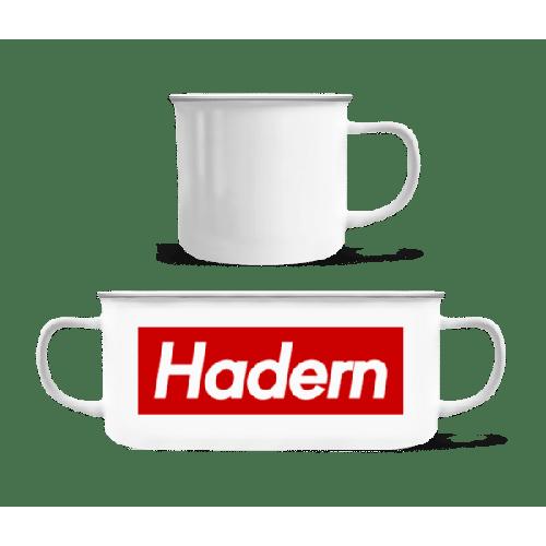 Hadern - Emaille-Tasse